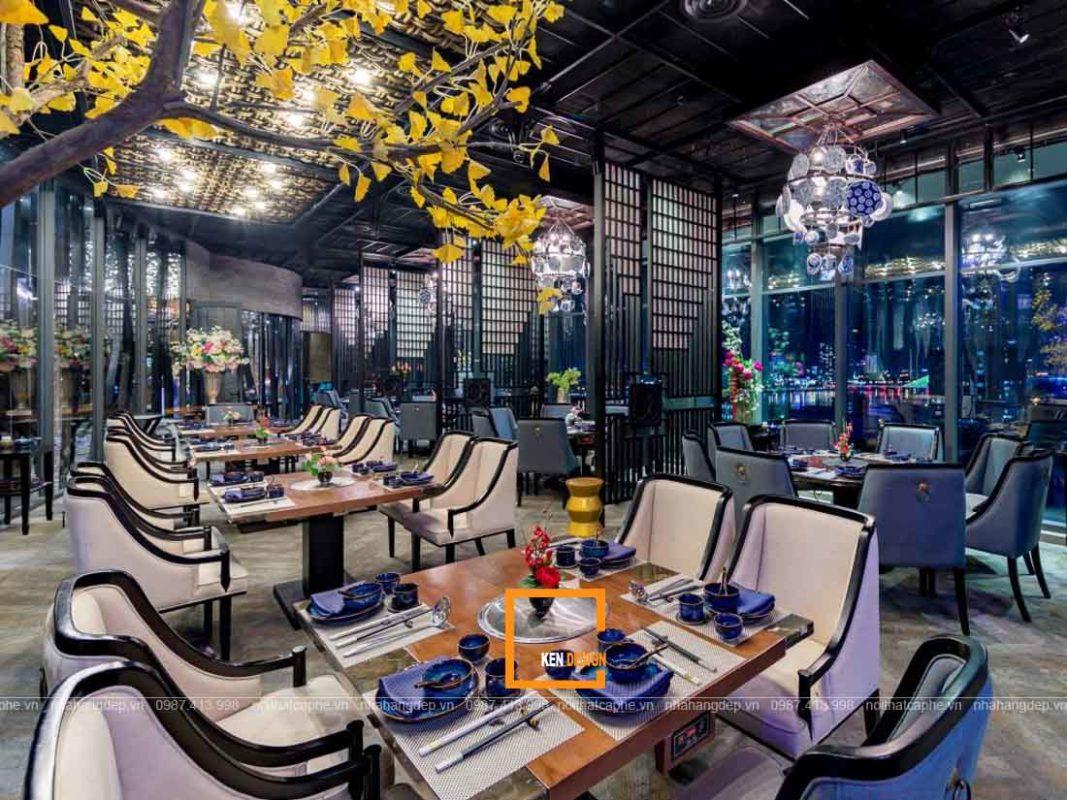 thiet ke nha hang tai da nang 4 1067x800 - Thiết kế nhà hàng tại Đà Nẵng