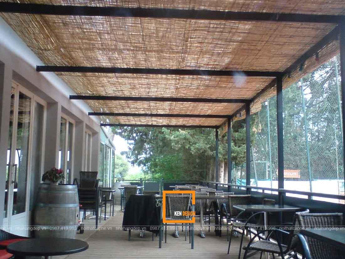 Tư vấn thiết kế nhà hàng khung thép không gian hẹp