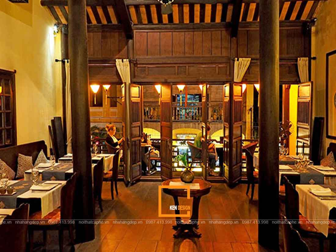 Tư vấn thiết kế nhà hàng kinh doanh món ăn truyền thống