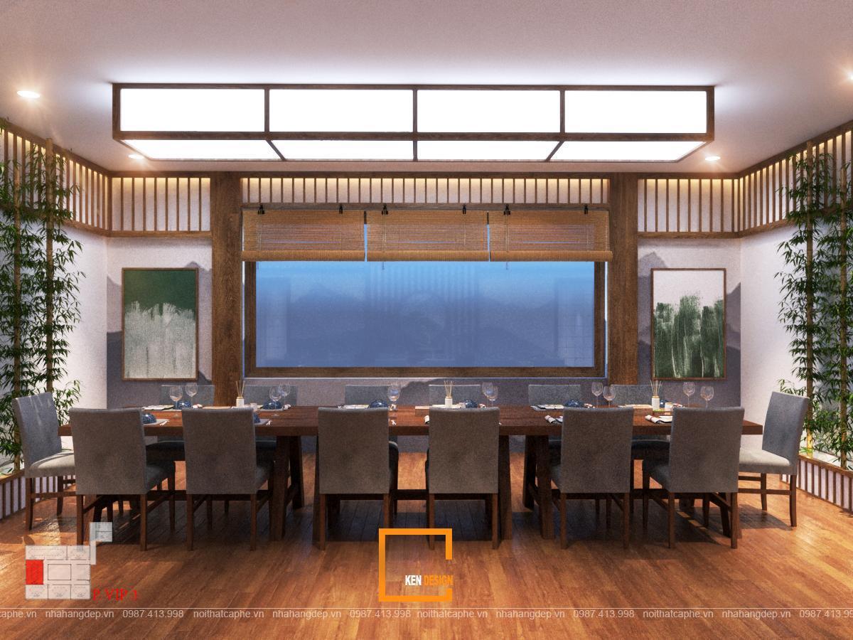 Ý tưởng thiết kế nhà hàng Nhật Bản độc đáo