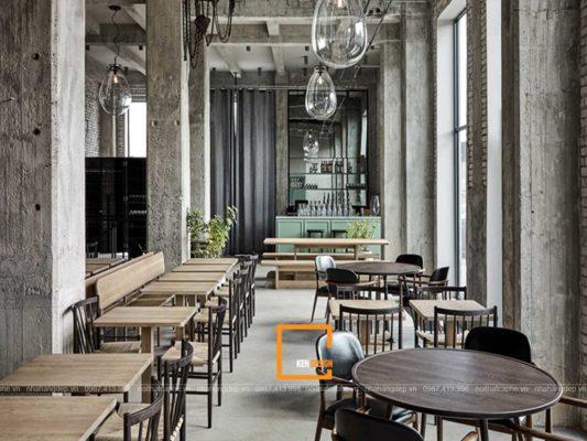 Thiet Ke Nha Hang Phong Cach Industrial (1)