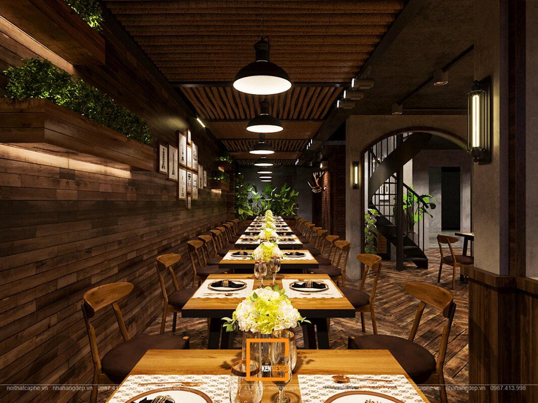 Thiet Ke Nha Hang Steak