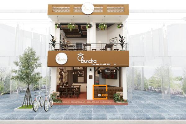 Thiết kế nhà hàng Ô Bun Cha