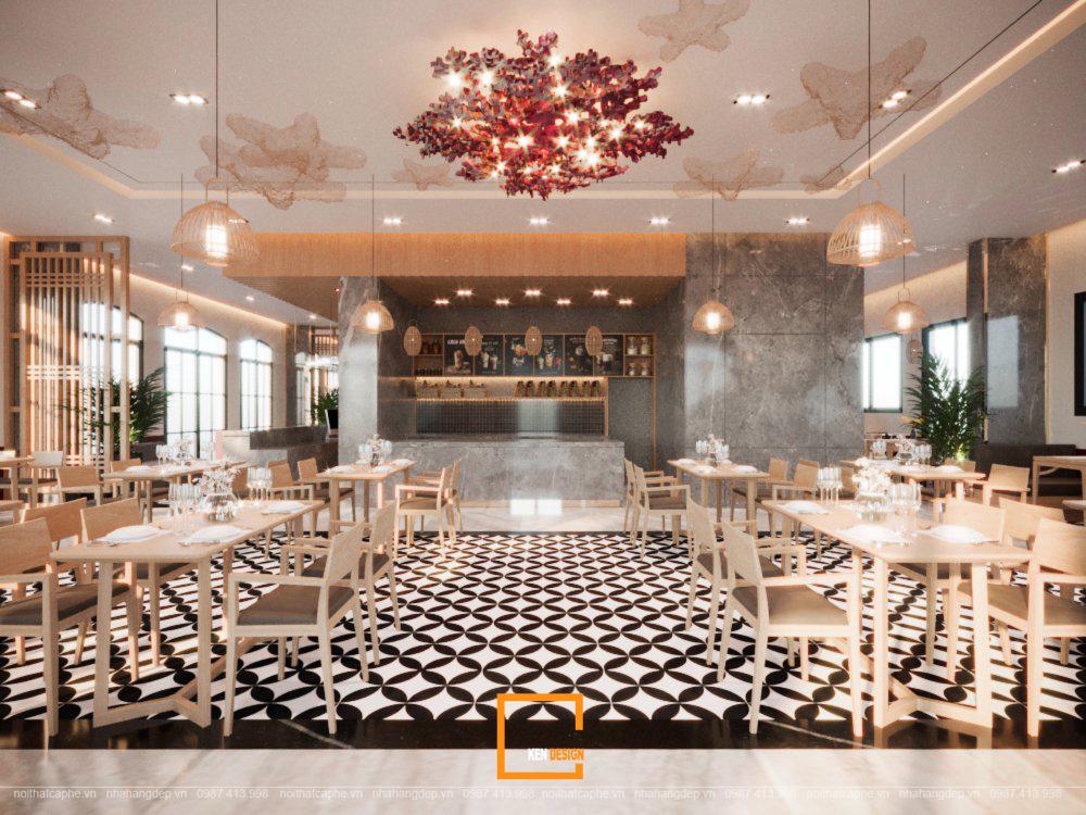 khachsancoral nhahang 13 - Thiết kế nhà hàng Coral - Một nét chấm phá độc đáo tại Phú Quốc