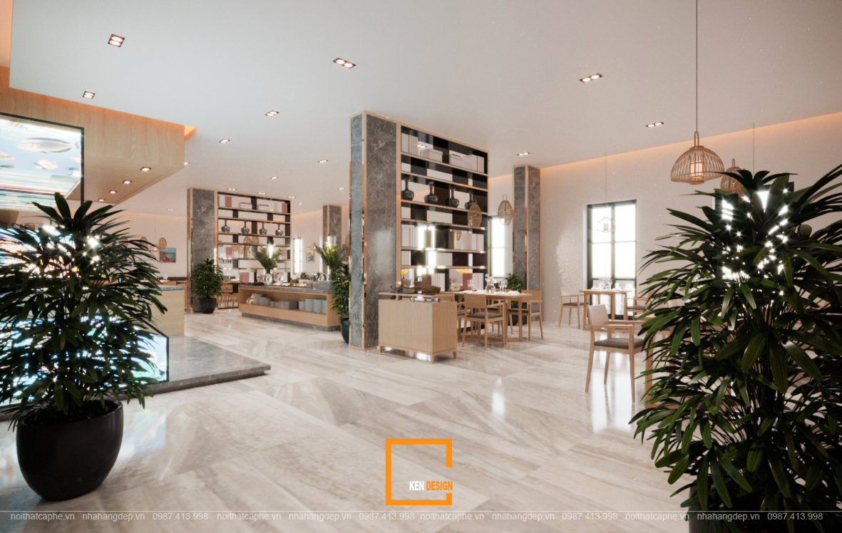 thiết kế khách sạn coral