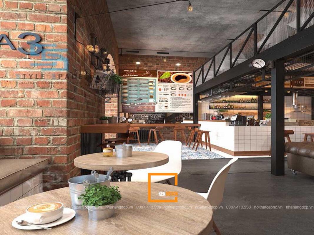 Thiet Ke Quan Cafe Phong Cach Cong Nghiep 2