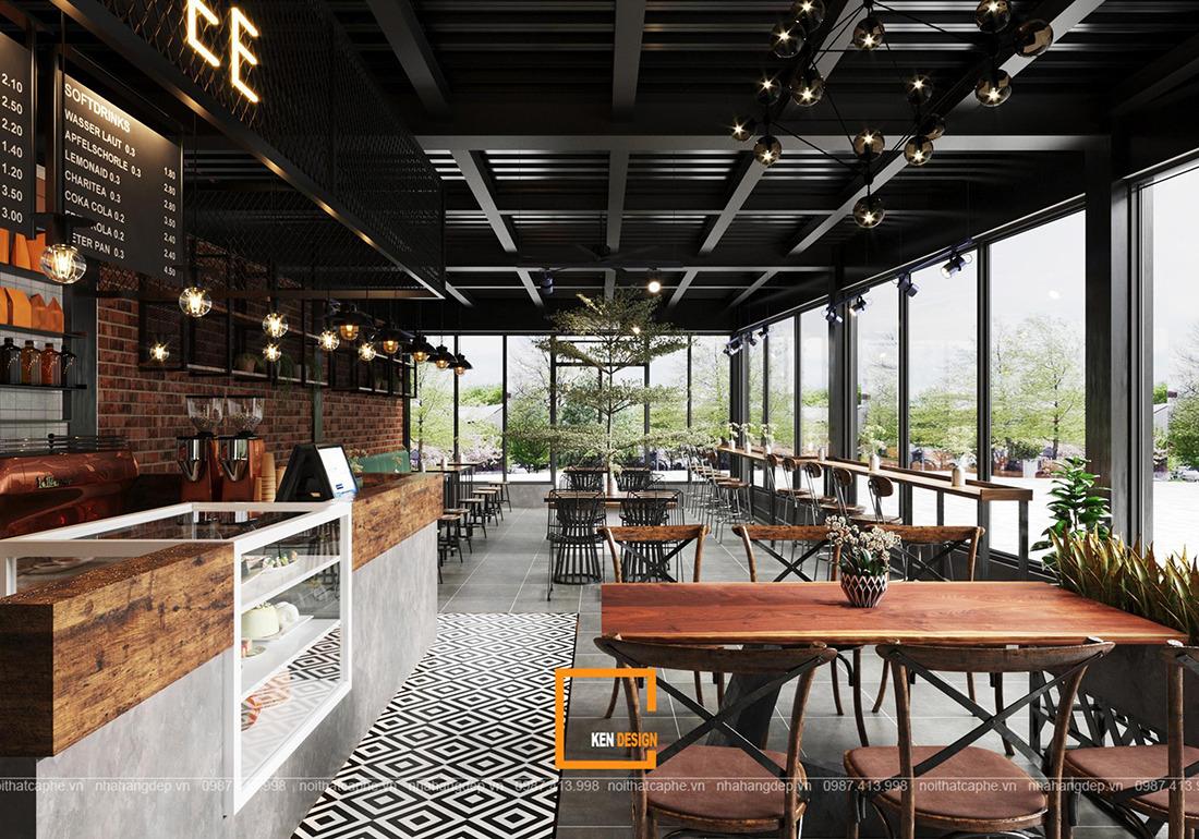 Thiet Ke Quan Cafe Urban Coffee Tai Nghe An 2