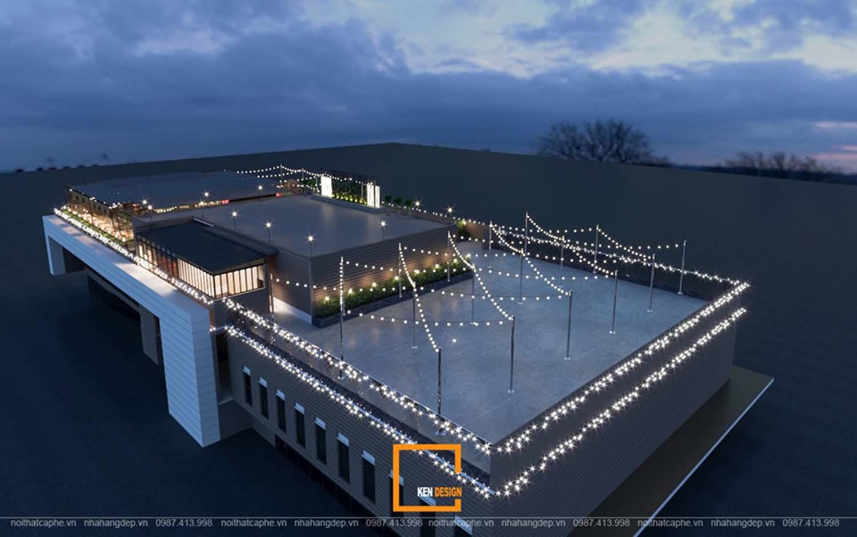 Thiết kế nhà hàng rooftop