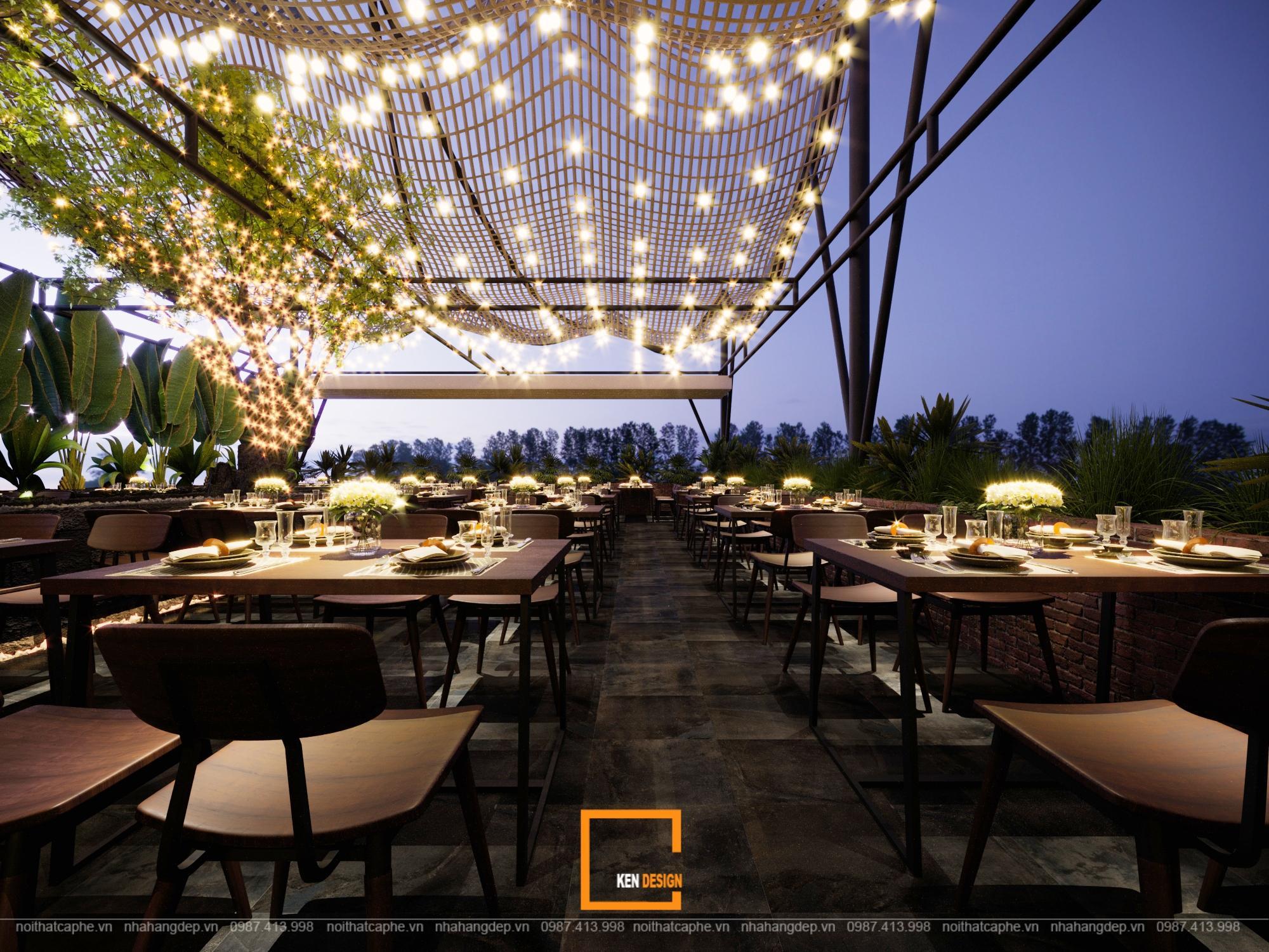 Thiet Ke Nha Hang Hai San Rooftop