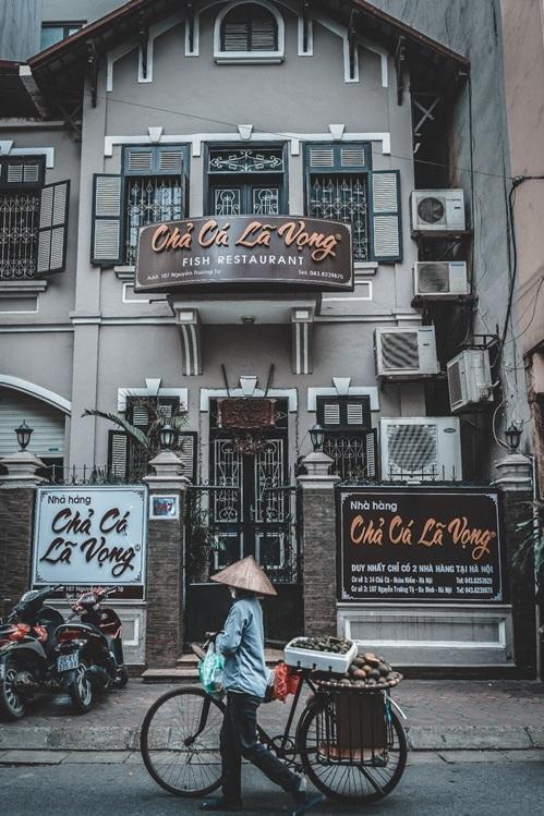 Mau Thiet Ke Nha Hang Cha Ca La Vong