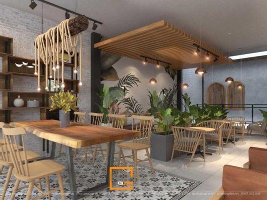 Thiet Ke Quan Cafe Van Phong 3