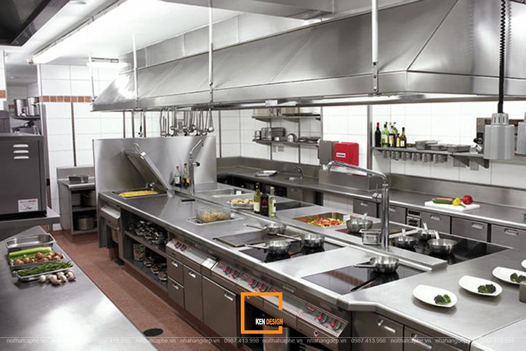 Thi Công Nhà Hàng Lẩu Nướng Khu Nhà Bếp