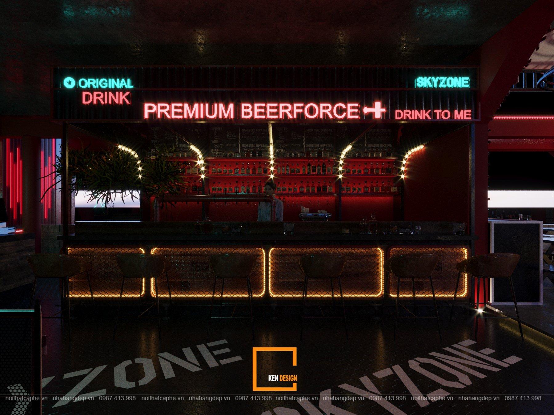 Thiet Ke Beer Club Skyzone 02