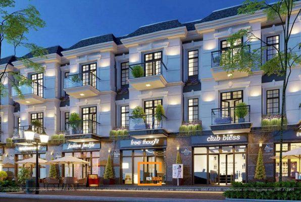 Thiet Ke Thi Cong Nha Hang Shophouse