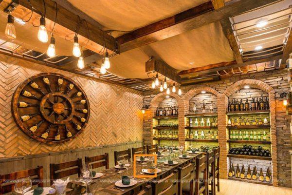 Thi Công Hoàn Thiện Hầm Rượu Happy Forest