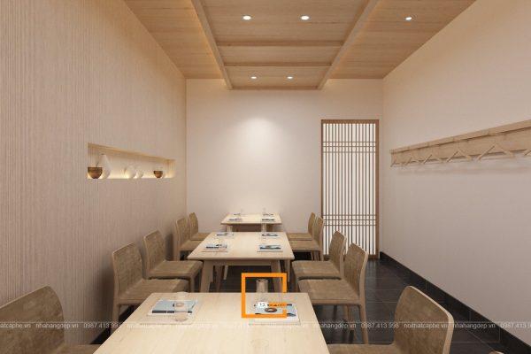 Thiet Ke Nha Hang Sushi Ikeda 13