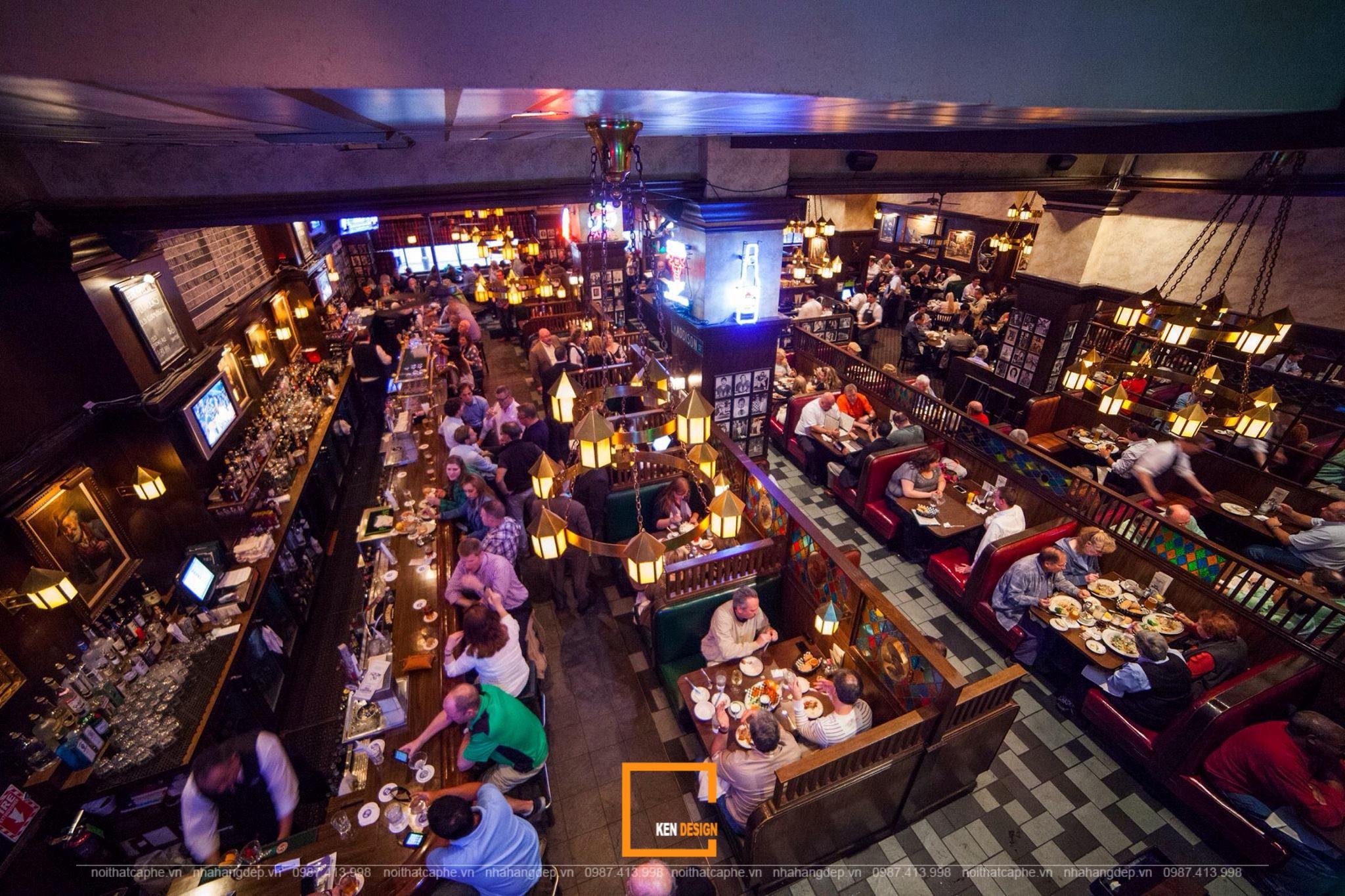 mô hình quán pub